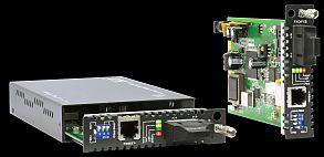 Cartela mediaconvertor SM 15 Km cu porturi FXS/FXO | CTC UNION | FRM220-FXS/FXO-SC015