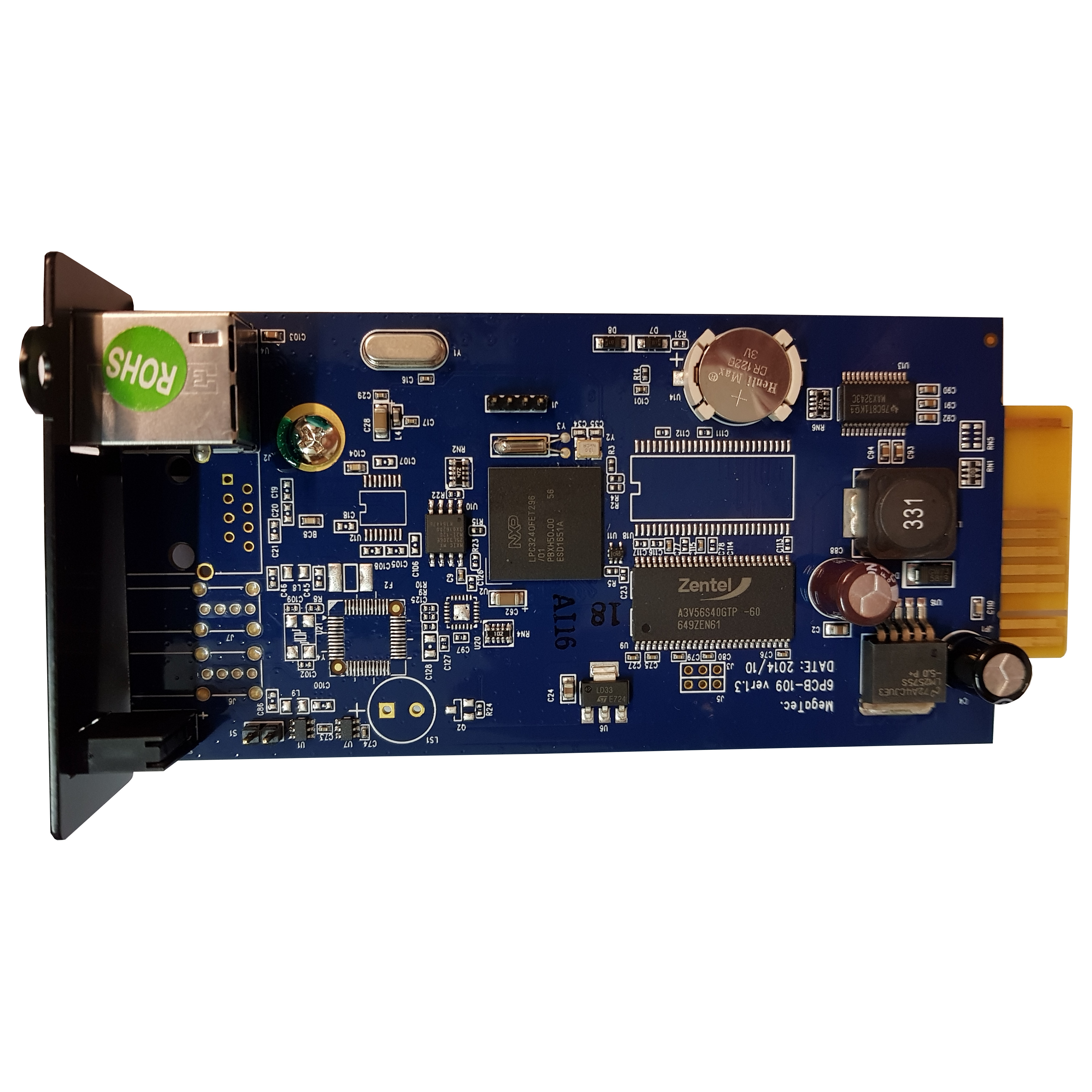 SNMP card CY504 for YDC33 series, MP S 6-10KVA | LARICE | SNMP card CY504