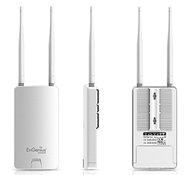 802.11a/n 300Mbps (2T2R) Wireless Long Range Outdoor AP / CB | ENGENIUS | ENS500EXT