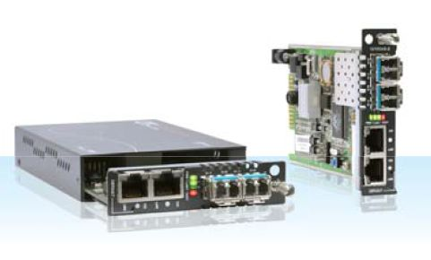 2-Port 10/100Base-TX + 2-port SFP, OAM / IP Managed Switch | CTC UNION | FRM220-10/100AS-2