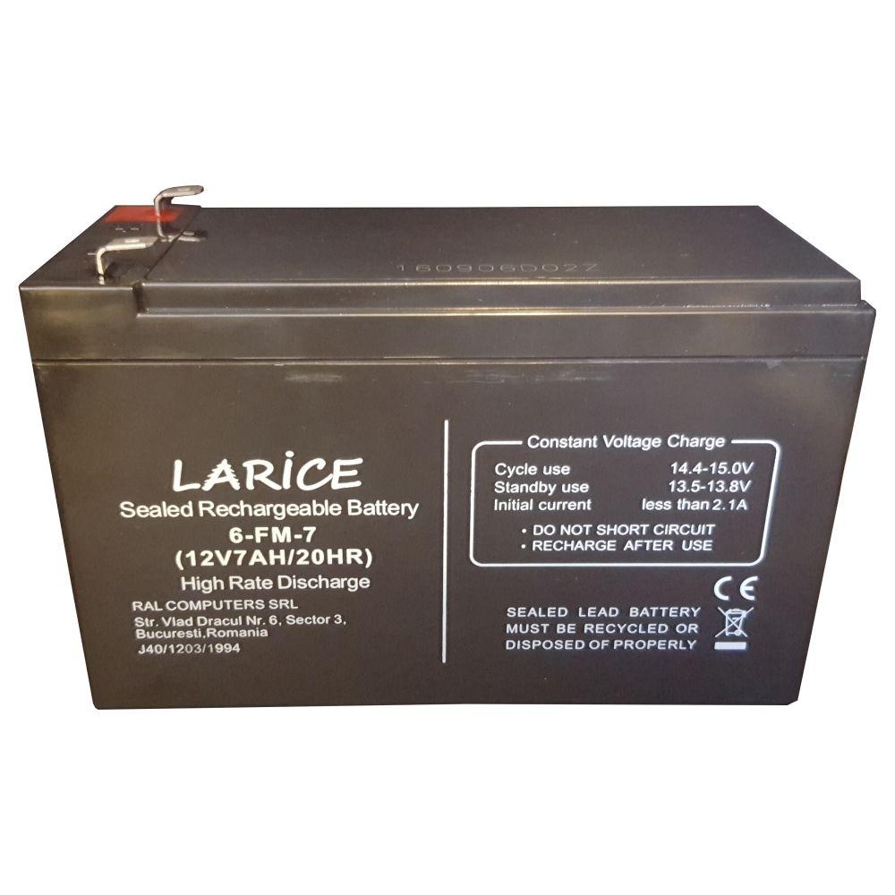 Acumulator LARICE 12V/7Ah pentru UPS-uri | LARICE | LARICE BAT 7Ah