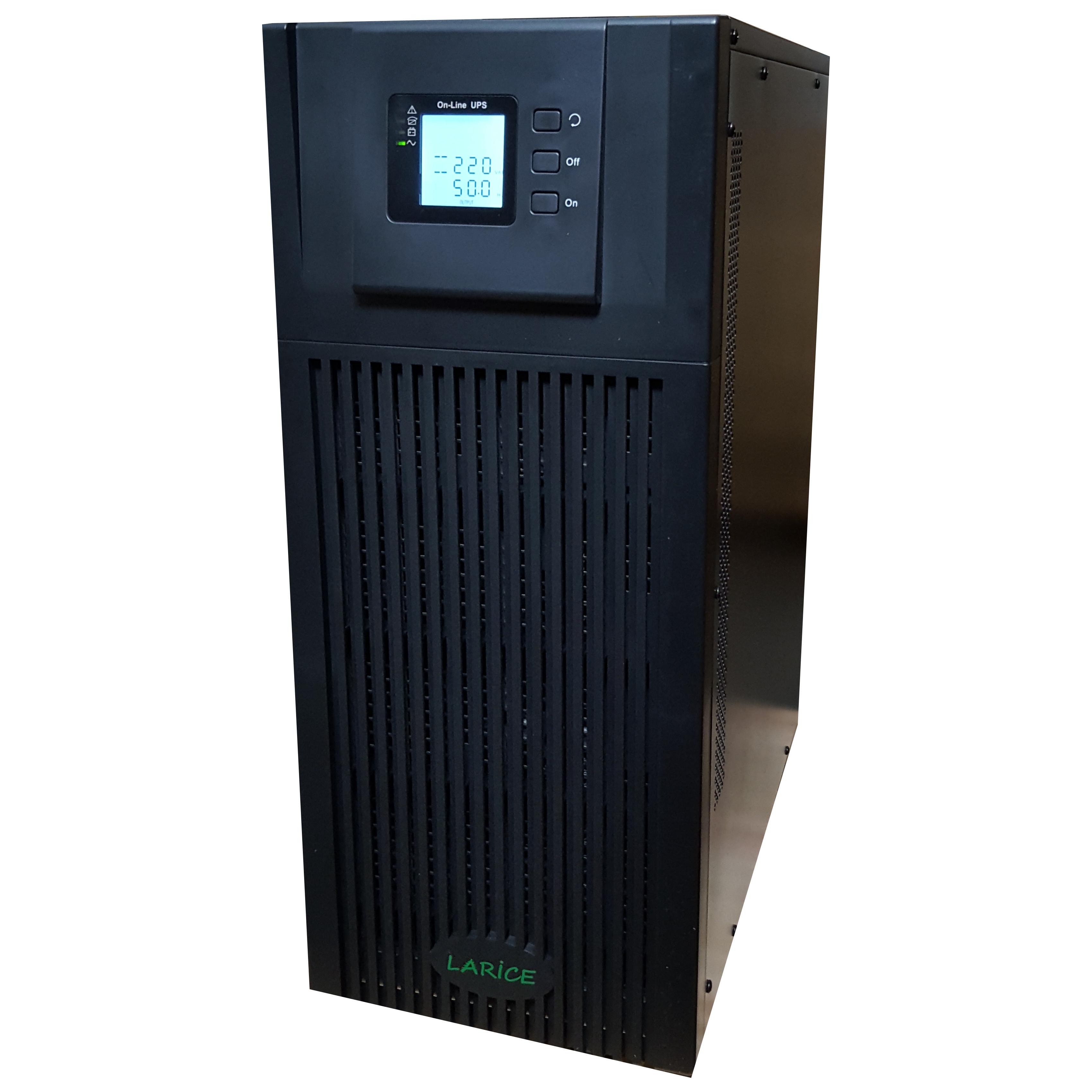 UPS LARICE Online Tower 10000VA/9000W, 20 x 9Ah | LARICE | MP S 10KVA-20