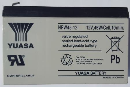 Acumulator Yuasa 12V/9Ah pt UPS Ablerex | UISAbler | MSIIRT-B 9Ah