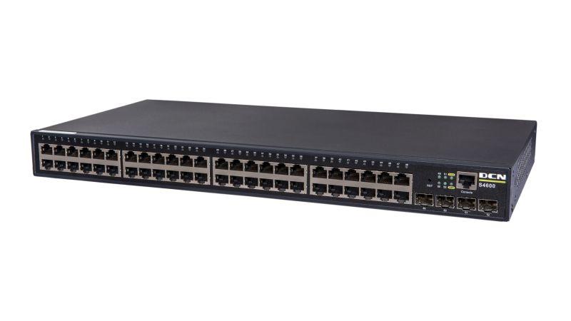 L2 Gigabit 48 x 10/100/1000Base-T + 4 x 100/1000 SFP | DCN | S4600-52P-SI