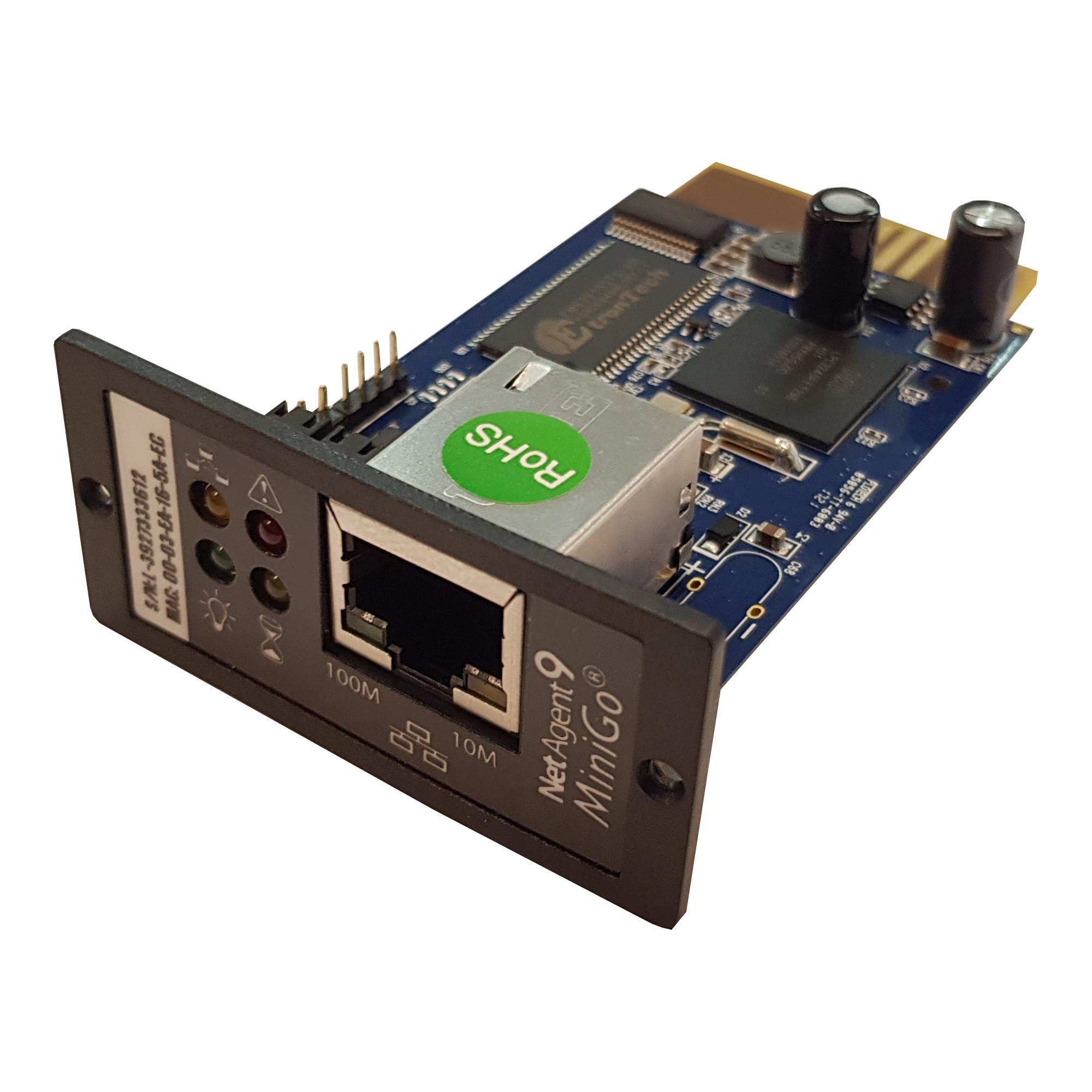 SNMP card DL801 for UDC/MP S RT 2, 1-3KVA | LARICE | SNMP card DL801