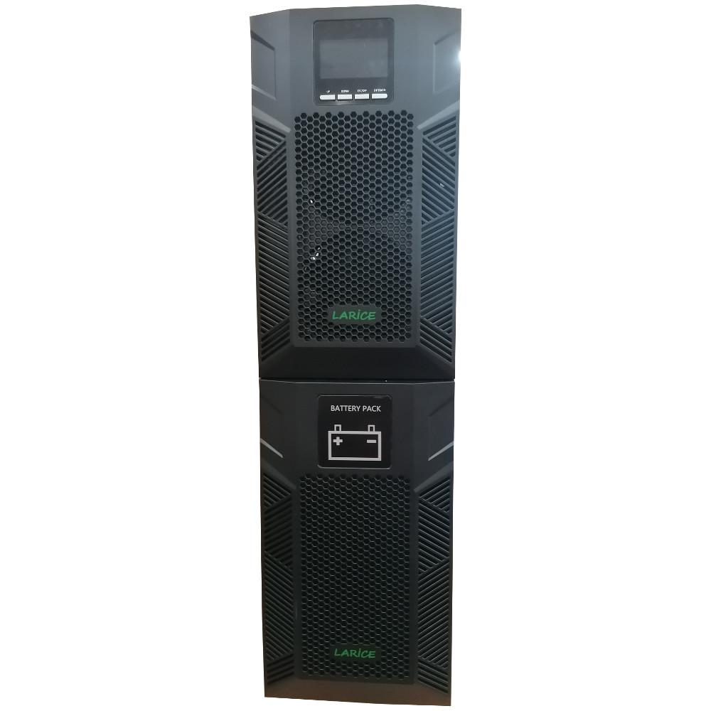 UPS LARICE Online Tower 6000VA/6000W, 20 x 9Ah | LARICE | UDC 6KVA-20 One