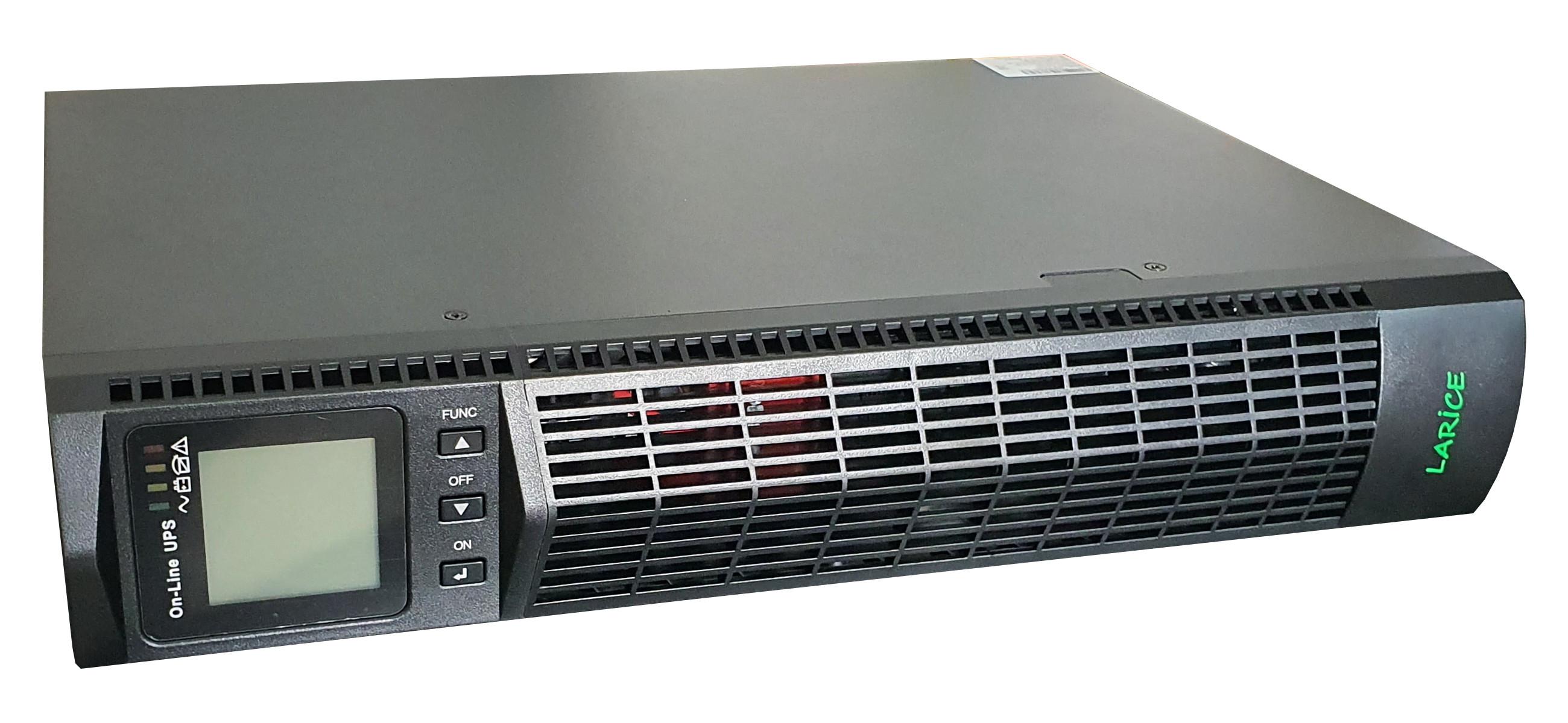 UPS LARICE Online Rack/tower 1000VA/1000W, 2 x 9Ah, 8 x IEC | LARICE | UDC9101S-RT One