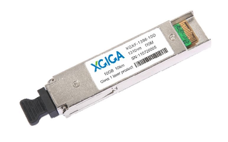 XFP S-64.2/10GE LR, 1-port S-64.2/10GE-L Small Form XFP | XGIGA | XGXF-1396-10D