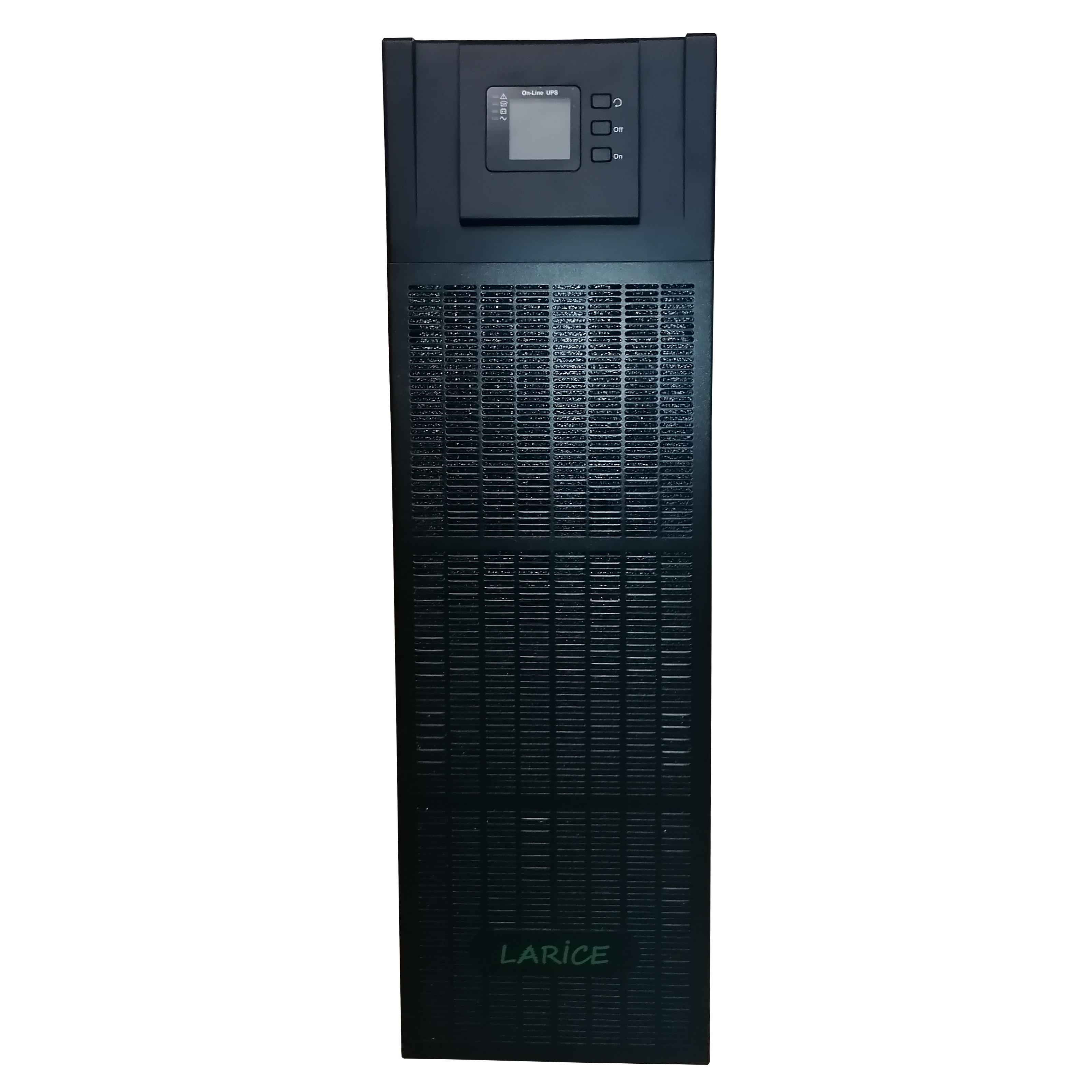UPS LARICE Trifazat Online 15 KVA/15kW, 3/3, 40 x 9Ah | LARICE | YDC3315S One